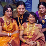 Yesteryear Kannada Actress in Gold Jewellery