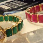 Ruby Emerald Bangles from Premraj Jewellers