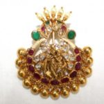 Radha Krishna Pendant from NAJ Jewellery