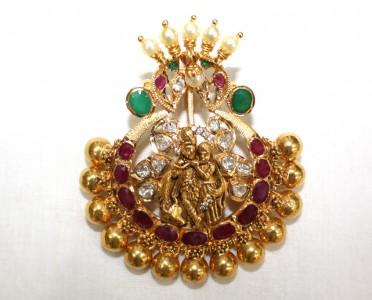 Radha krishna pendant from naj jewellery radha krishna pendant from naj jewellers aloadofball Gallery