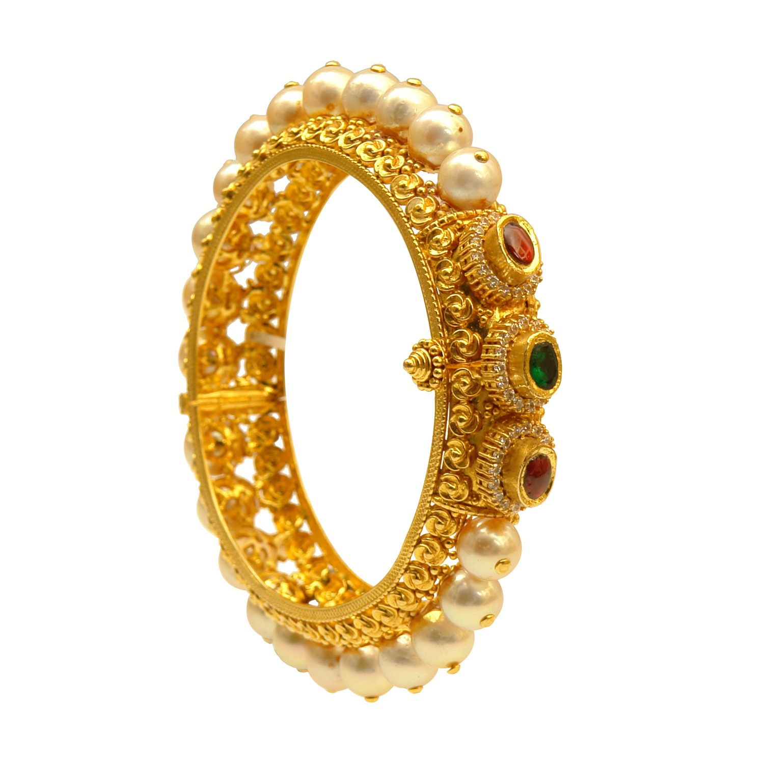 pearl bangle from prince jewellery