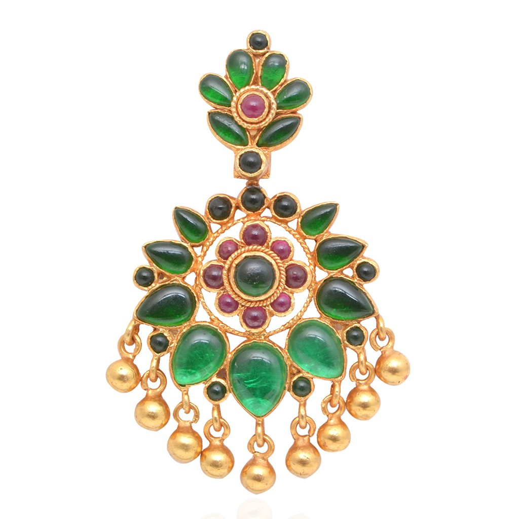 gold-coated-emerald-silver-pendant-from-grt-jewellers