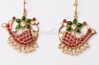 jalaja silver fish earrings from ko jewellery