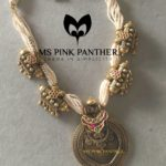 Gold Coated Silver Pearl Necklace from Ms PINK Panther Jewellery
