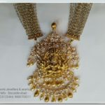 Uncut Lakshmi Pendant from Sri Mahalakshmi Jewellers Hyderabad