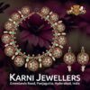 bold polki bottumala by karni jewellers