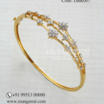 Light Weight Diamond Bracelet from Mangatrai Jewellers