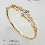 Light Weight Diamond Bracelet from Mangatrai Jewellers