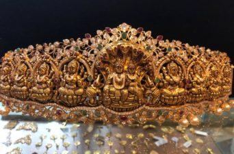 ashta lakshmi vaddanam collection 300 grams from premraj shantilal jain jewellers