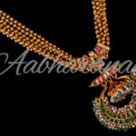 Gold Beads Necklace from Abharanam Jewellers