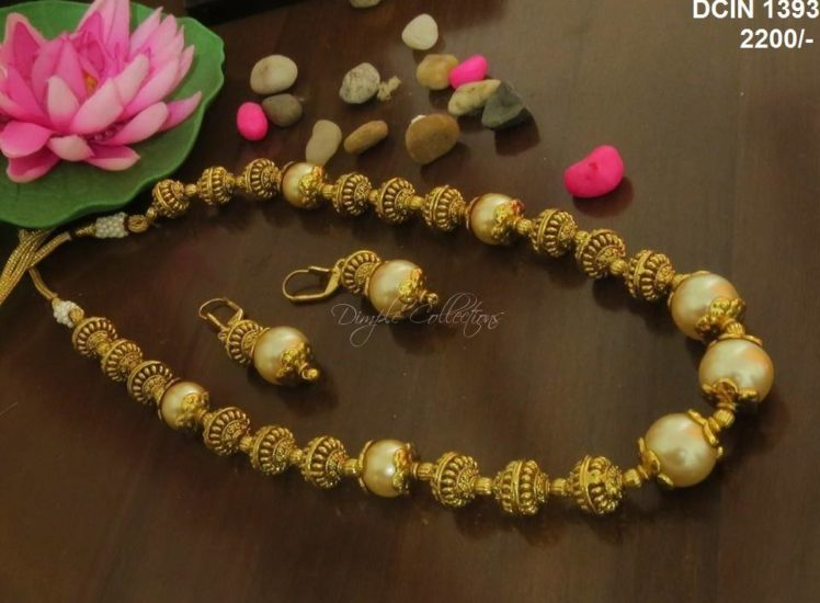 south sea pearls necklace from dimple collections