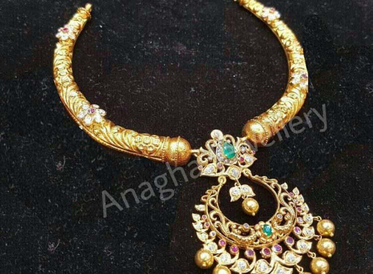 22 carat kante is from anagha jewellery hyderbad