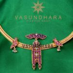 Antique Necklace from Vasundhara Diamond Roof Hyderabad
