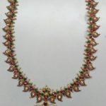 Light Weight Gold Mango Mala by Mirra Jewellery