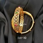 Gold Plated Pure Silver Bangles from BCOS Its Silver