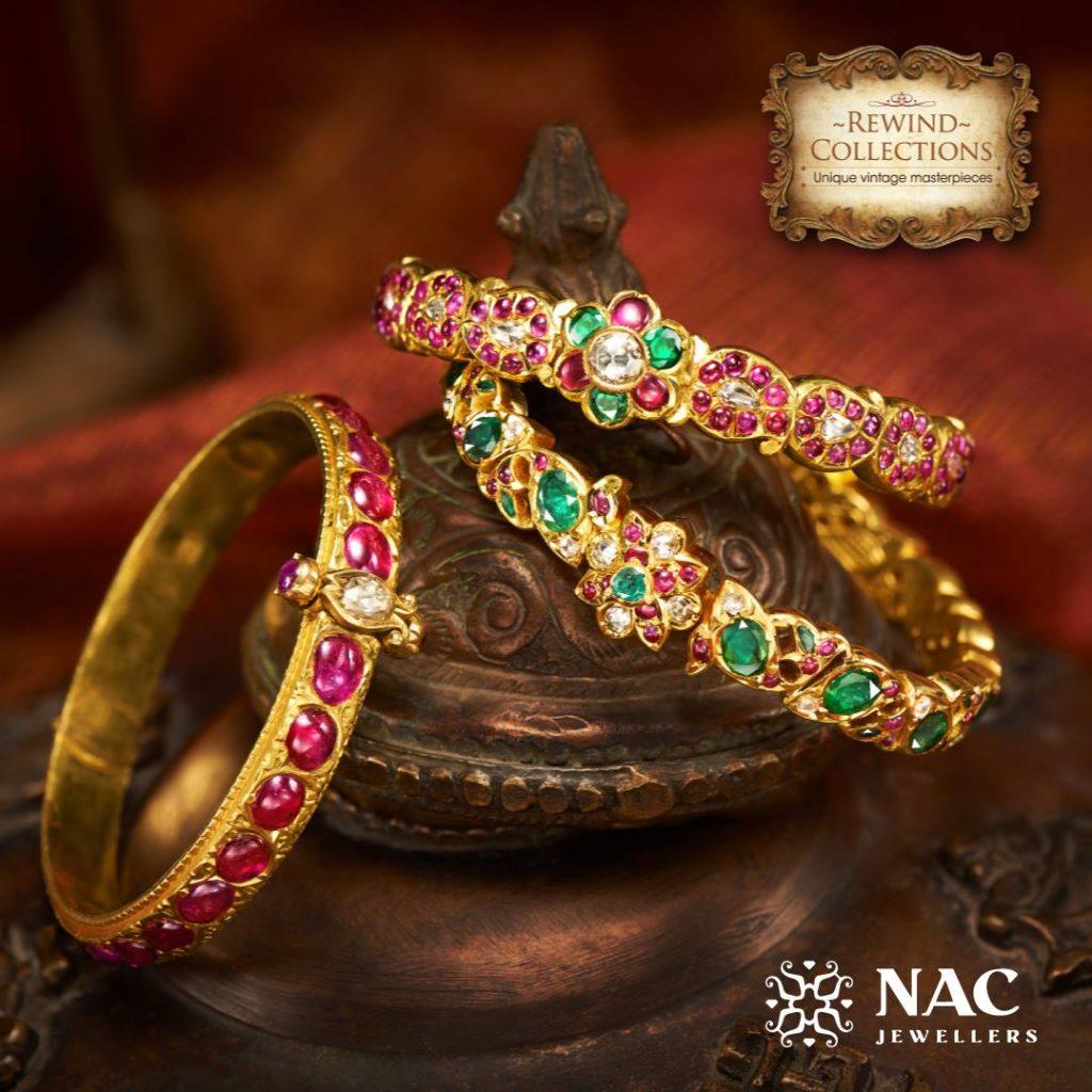 temple jewellery bracelets from NAC Jewellers
