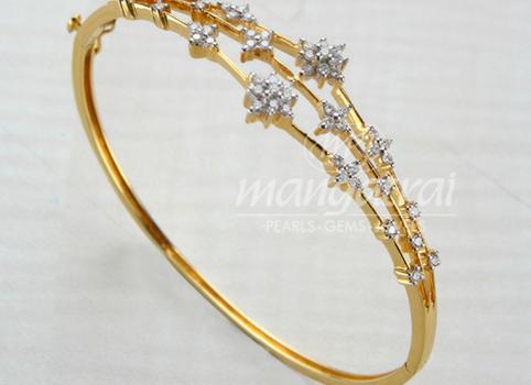 diamond bracelet from mangatrai jewellers