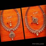 Two Ways Diamond Mango Mala from Hiya Designer Jewellery