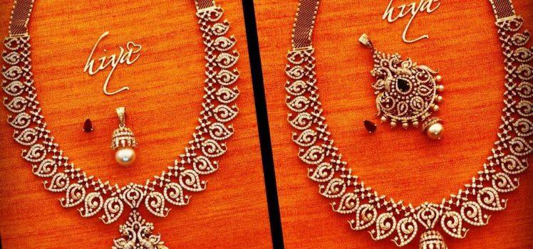 diamond mango mala from hiya designer jewellery